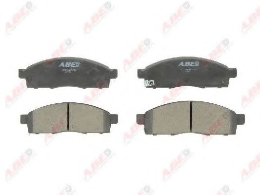 Тормозные колодки ABE C11098ABE