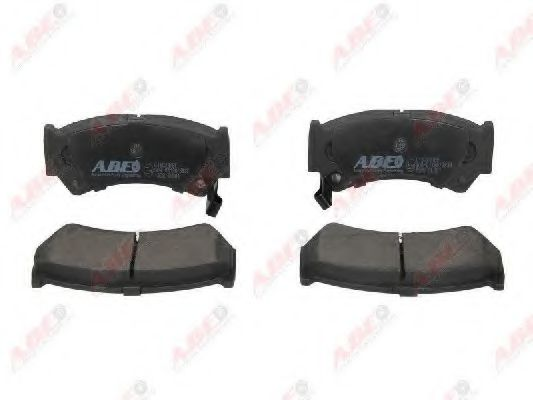 Тормозные колодки ABE C18023ABE