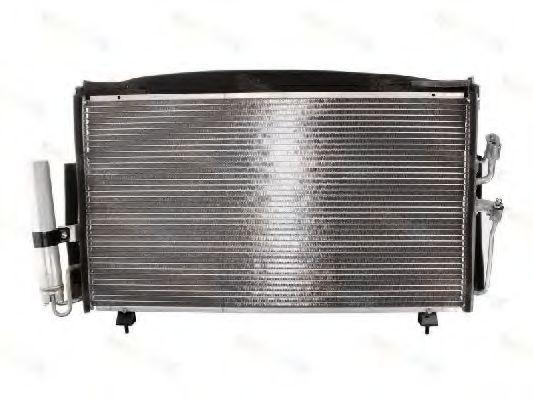 Радиатор кондиционера THERMOTEC KTT110201