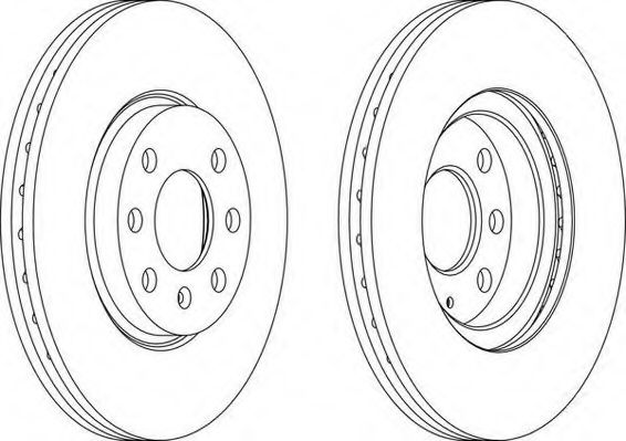 Тормозной диск WAGNER WGR1131-1