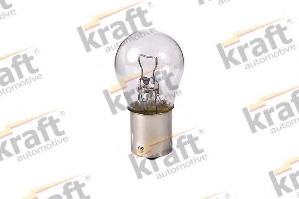 Лампа накаливания KRAFT AUTOMOTIVE 0803150 (указатель поворота, сигнал торможения, освещение номерного знака, задняя противотуманная фара, фара заднего хода, внутреннее освещение, фонарь установленный в двери, освещение багажника, подкапотная лампа, стоян