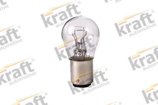 Лампа накаливания KRAFT AUTOMOTIVE 0803500 (указатель поворота, сигнал торможения, освещение номерного знака, задняя противотуманная фара, фара заднего хода, внутреннее освещение, фонарь установленный в двери, освещение багажника, подкапотная лампа, стоян