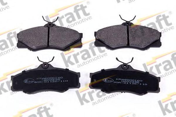 Тормозные колодки KRAFT AUTOMOTIVE 6000160
