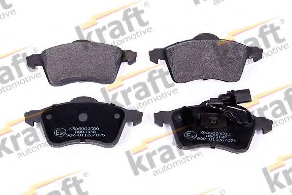Тормозные колодки KRAFT AUTOMOTIVE 6000600