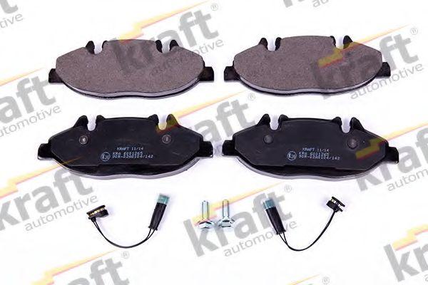 Тормозные колодки KRAFT AUTOMOTIVE 6001265
