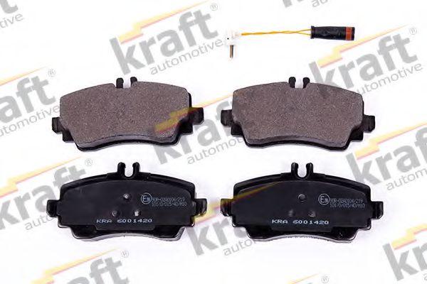 Тормозные колодки KRAFT AUTOMOTIVE 6001420