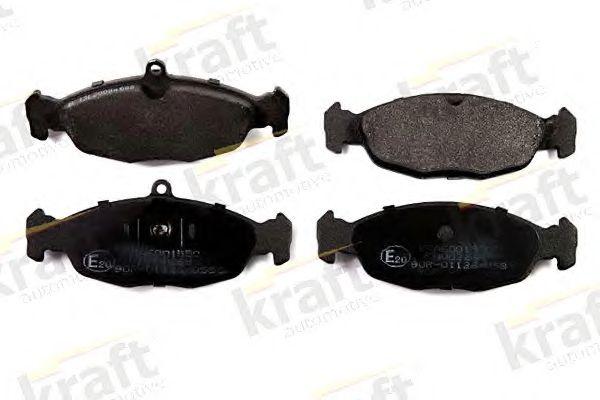 Тормозные колодки KRAFT AUTOMOTIVE 6001550