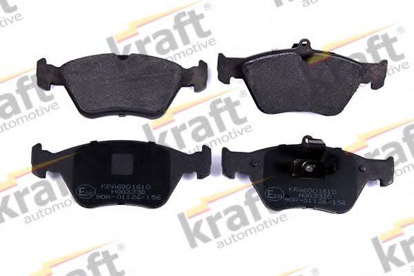 Тормозные колодки KRAFT AUTOMOTIVE 6001610