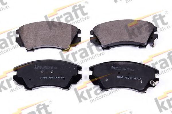 Тормозные колодки KRAFT AUTOMOTIVE 6001672