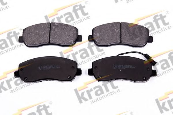 Тормозные колодки KRAFT AUTOMOTIVE 6001713