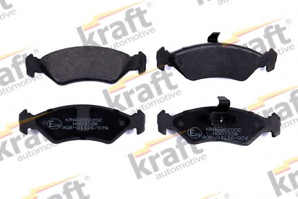 Тормозные колодки KRAFT AUTOMOTIVE 6002002