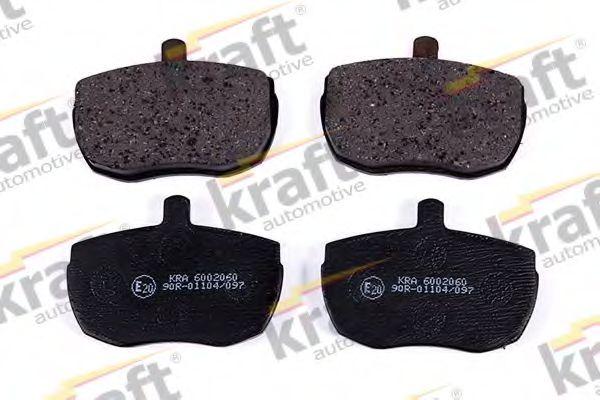 Тормозные колодки KRAFT AUTOMOTIVE 6002060