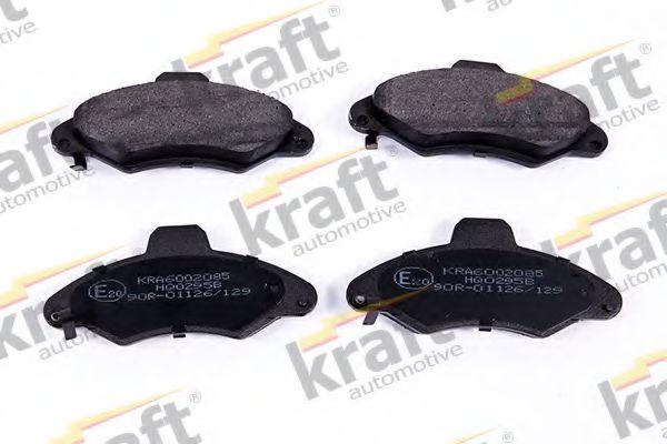 Тормозные колодки KRAFT AUTOMOTIVE 6002085