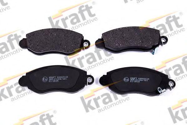 Тормозные колодки KRAFT AUTOMOTIVE 6002110