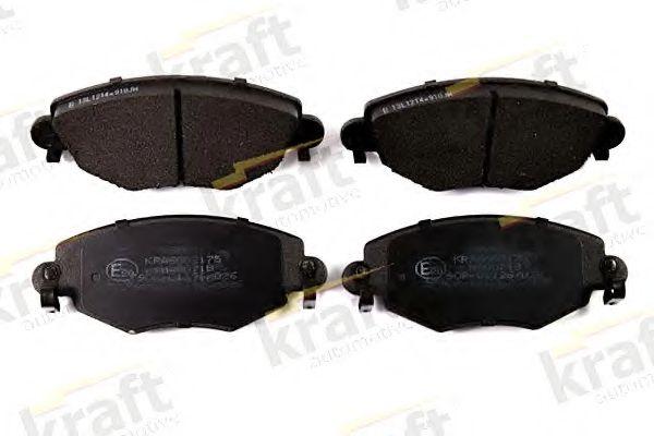 Тормозные колодки KRAFT AUTOMOTIVE 6002175