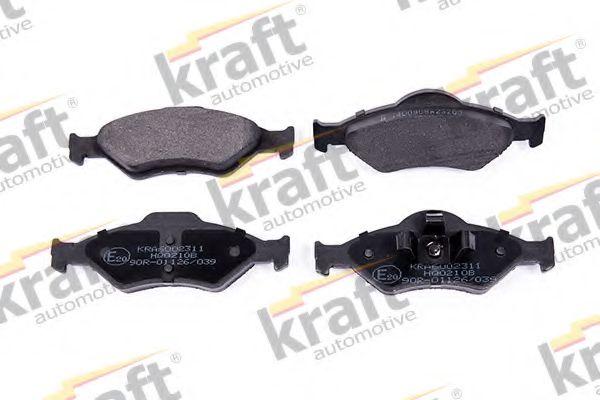 Тормозные колодки KRAFT AUTOMOTIVE 6002311