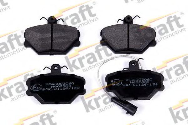 Тормозные колодки KRAFT AUTOMOTIVE 6003060