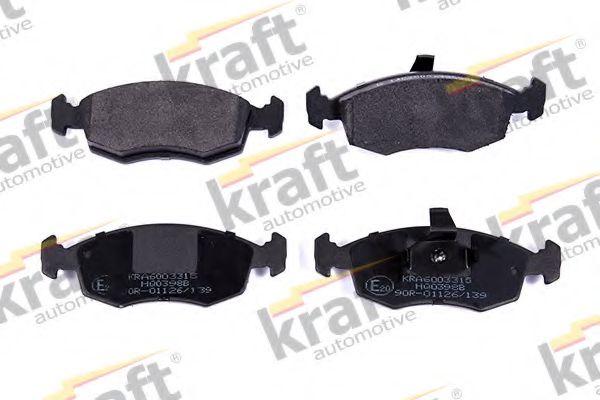 Тормозные колодки KRAFT AUTOMOTIVE 6003315