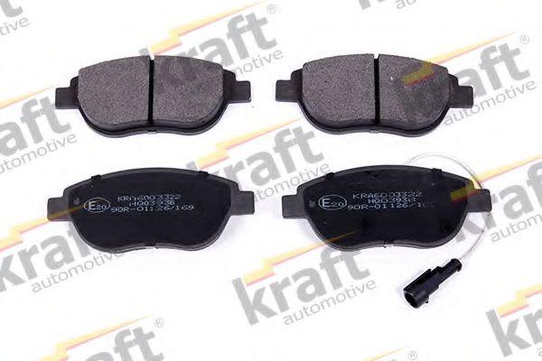 Тормозные колодки KRAFT AUTOMOTIVE 6003322