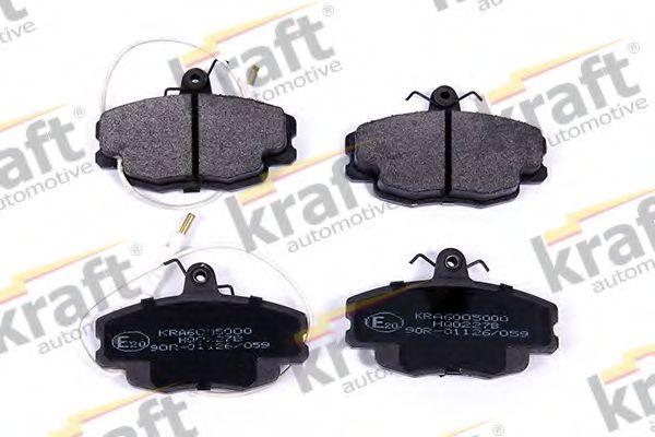 Тормозные колодки KRAFT AUTOMOTIVE 6005000