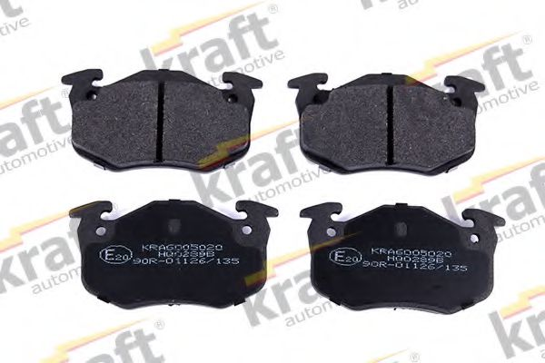 Тормозные колодки KRAFT AUTOMOTIVE 6005020
