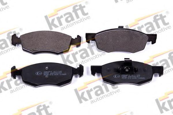 Тормозные колодки KRAFT AUTOMOTIVE 6005027