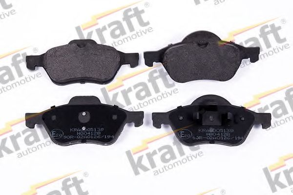 Тормозные колодки KRAFT AUTOMOTIVE 6005139