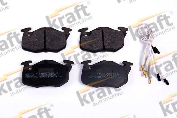 Тормозные колодки KRAFT AUTOMOTIVE 6006010