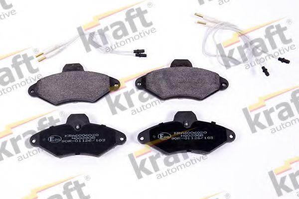 Тормозные колодки KRAFT AUTOMOTIVE 6006020
