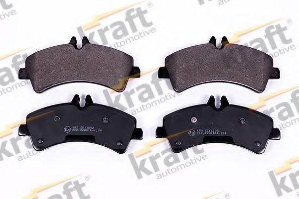Тормозные колодки KRAFT AUTOMOTIVE 6011092