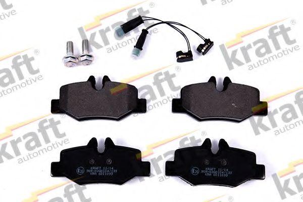 Тормозные колодки KRAFT AUTOMOTIVE 6011099