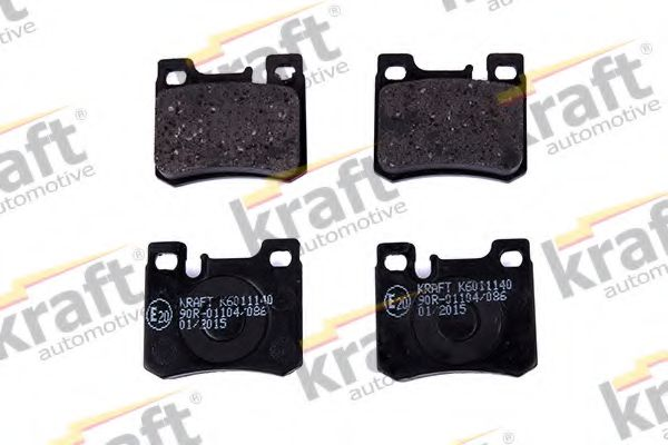 Тормозные колодки KRAFT AUTOMOTIVE 6011140