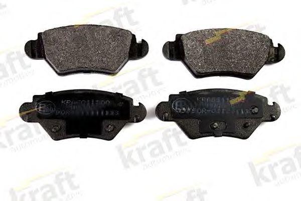 Тормозные колодки KRAFT AUTOMOTIVE 6011500