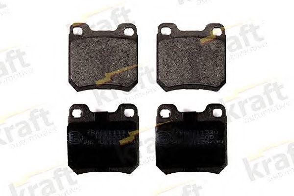 Тормозные колодки KRAFT AUTOMOTIVE 6011530