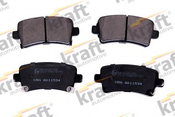 Тормозные колодки KRAFT AUTOMOTIVE 6011534