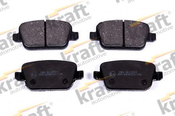 Тормозные колодки KRAFT AUTOMOTIVE 6012304