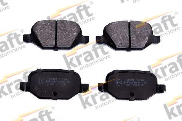 Тормозные колодки KRAFT AUTOMOTIVE 6013040