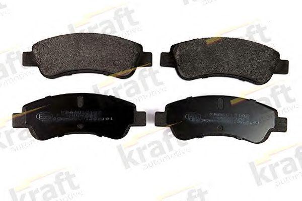 Тормозные колодки KRAFT AUTOMOTIVE 6013102