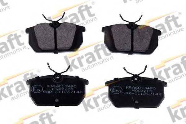 Тормозные колодки KRAFT AUTOMOTIVE 6013490