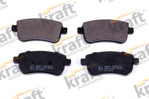 Тормозные колодки KRAFT AUTOMOTIVE 6015112