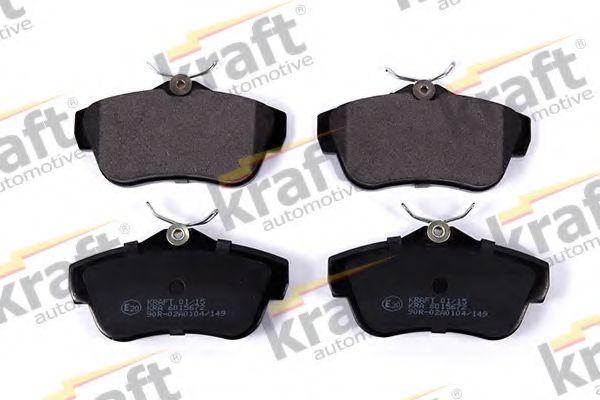 Тормозные колодки KRAFT AUTOMOTIVE 6015672