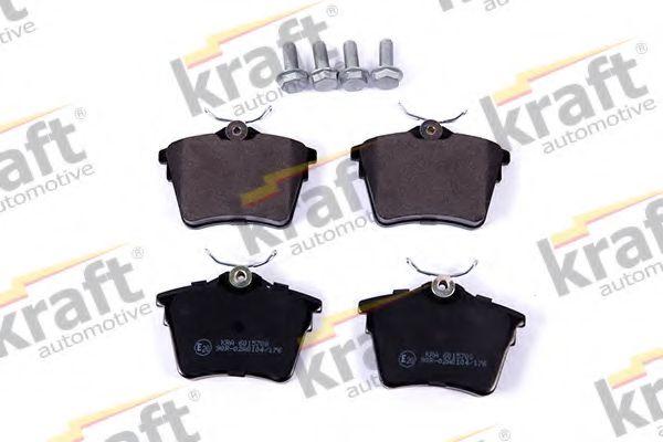 Тормозные колодки KRAFT AUTOMOTIVE 6015700
