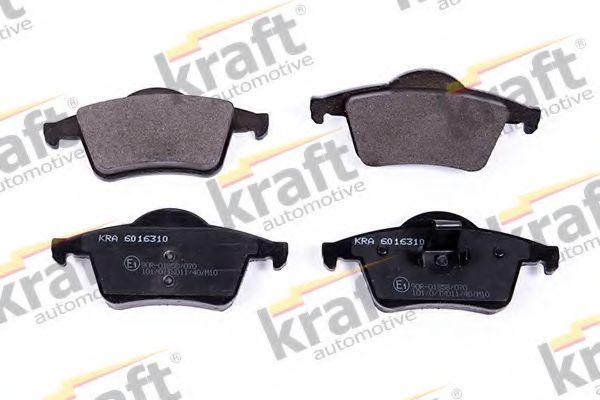 Тормозные колодки KRAFT AUTOMOTIVE 6016310