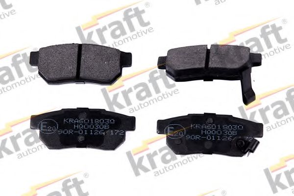 Тормозные колодки KRAFT AUTOMOTIVE 6018030