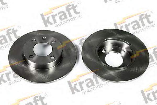 Тормозной диск KRAFT AUTOMOTIVE 6040010
