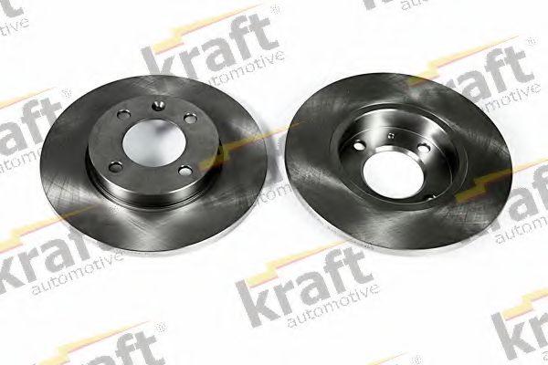 Тормозной диск KRAFT AUTOMOTIVE 6040020