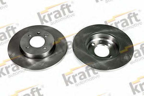Тормозной диск KRAFT AUTOMOTIVE 6040060
