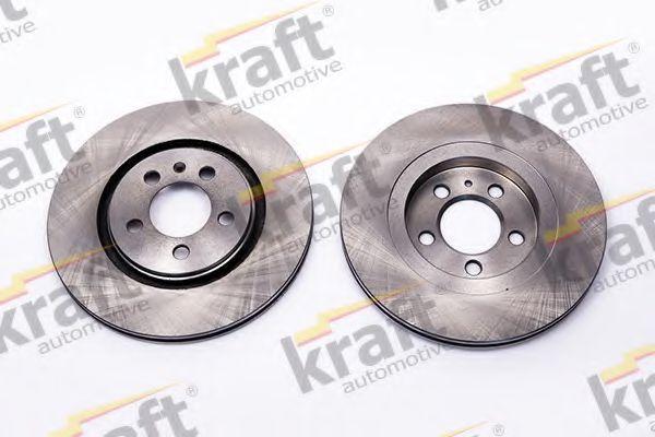 Тормозной диск KRAFT AUTOMOTIVE 6040115