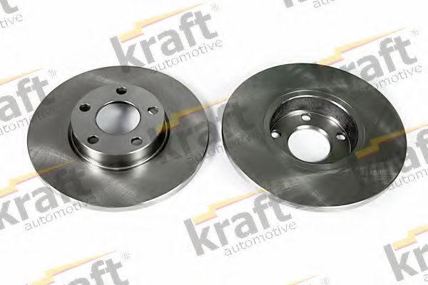 Тормозной диск KRAFT AUTOMOTIVE 6040120