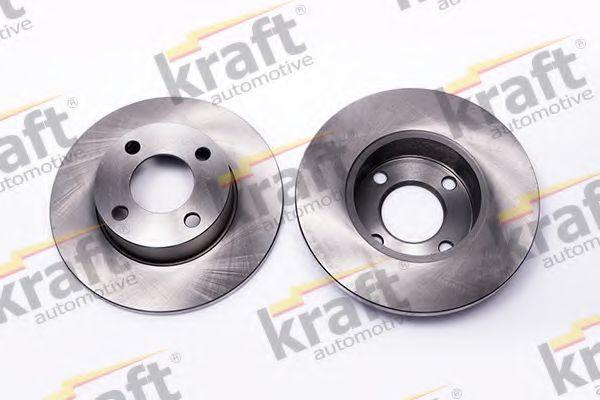 Тормозной диск KRAFT AUTOMOTIVE 6040140
